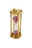 Copper hourglass Royalty Free Stock Image
