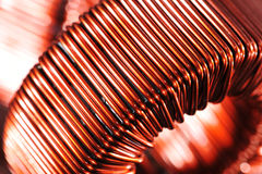 Copper inductor Stock Photos