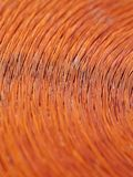 Copper inductor metal Stock Image