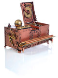 Copper inkwell Stock Image