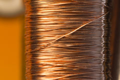 Copper inside Electric Motor Stock Images