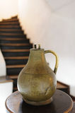 Copper jug in historical museum castle Bran Stock Images