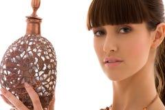 Copper jug Stock Photo