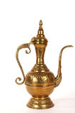 Copper Jug With A Traditional Arabic Ornaments Royalty Free Stock Image