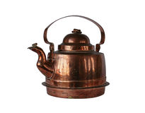 Copper kettle Royalty Free Stock Image