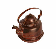 Copper kettle Stock Images