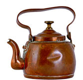 Copper kettle Royalty Free Stock Photo
