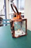 Copper lantern Stock Image