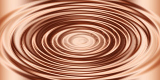 Copper Liquid Swirl Royalty Free Stock Photo