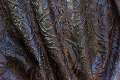 Copper mantle texture background closeup Royalty Free Stock Photo