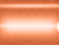 Copper metal brushed background Royalty Free Stock Photos
