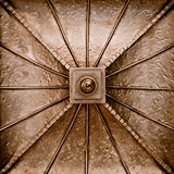 Copper metal plate Royalty Free Stock Photo