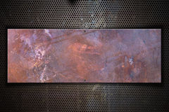 Copper Metal Plate Stock Images