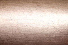 Copper metal scratched background texture abstract Royalty Free Stock Image