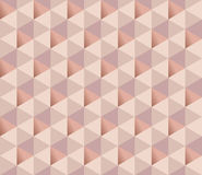 Copper metal texture vector background. Luxury festive surface backdrop. geometry metal shining background. geometric seamless pattern. rosy tender elegant Royalty Free Stock Photos
