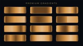 Free Copper Metallic Premium Gradients Set Royalty Free Stock Photography - 141459027
