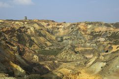Copper Mine. Opencast copper-mine Royalty Free Stock Images