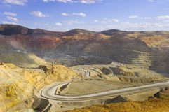 Copper Mine Royalty Free Stock Photos