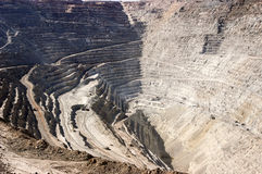 Copper Mine stock photography