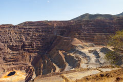 Copper Mine Stock Photo