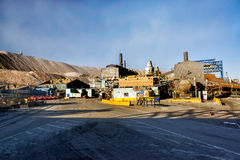 Copper Mine Refinery Royalty Free Stock Images