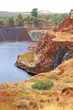 Copper mine. Stock Image