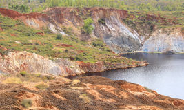 Copper mine. Royalty Free Stock Images