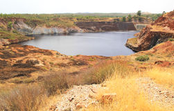 Copper mine. Royalty Free Stock Photo