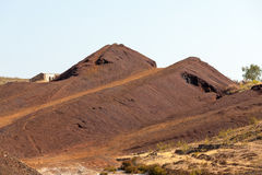 Copper mine tailings Royalty Free Stock Photography