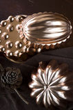 Copper molds Royalty Free Stock Photography