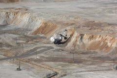 Copper-molybdenum mine 4 Stock Photography