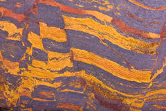 Copper mountain jasper slab Stock Photography