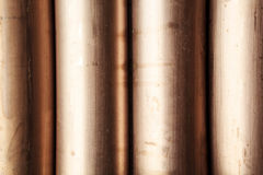 Copper nickel alloy pipe. Copper pipe alloy nickle on the oil industry royalty free stock images