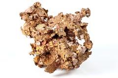 Copper nugget Stock Photo