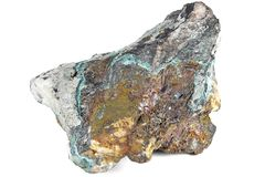 Copper ore Royalty Free Stock Image