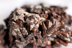 Copper ore mineral sample Royalty Free Stock Photography