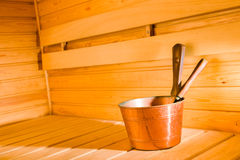 Copper pail Stock Image