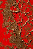 Copper Paint Texture on Red Stock Photos