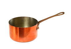Copper pan Royalty Free Stock Photos