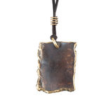 Copper pendant Stock Image