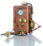 Copper Phone. Royalty Free Stock Photo