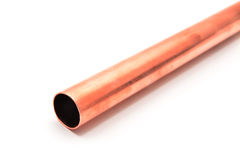 Copper pipe Royalty Free Stock Images