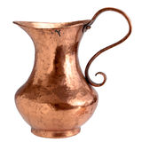 Copper pitcher Royalty Free Stock Photo