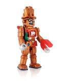 Copper Plastic Casino Robot Stock Photo