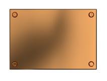 Free Copper Plate Stock Photo - 12000950