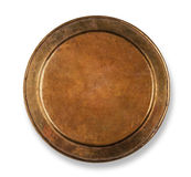 Copper plate Stock Image
