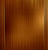 Copper plate. Copper or bronze plate with some reflection on it Royalty Free Stock Photography