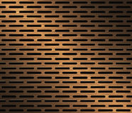 Copper Plate Background Royalty Free Stock Photography