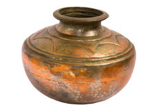 Copper pot Royalty Free Stock Photos