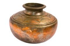 Copper pot Royalty Free Stock Photos